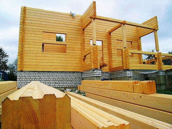 Строить дом из клееного бруса своими руками 95